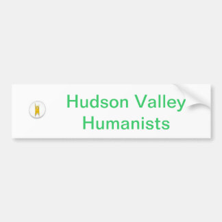 Pegatina para el parachoques del humanista del val pegatina de parachoque