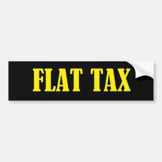 Pegatina para el parachoques del impuesto único pegatina de parachoque