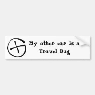 Pegatina para el parachoques del insecto del viaje pegatina para auto