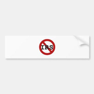 Pegatina para el parachoques del IRS Pegatina Para Auto