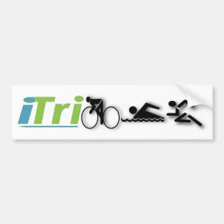 pegatina para el parachoques del iTri Pegatina Para Auto