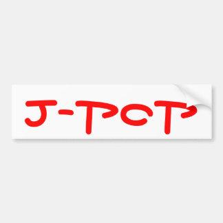 Pegatina para el parachoques del J-Estallido Pegatina Para Auto