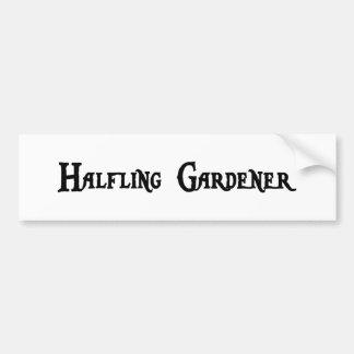 Pegatina para el parachoques del jardinero de Half Pegatina Para Auto