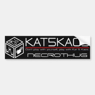 Pegatina para el parachoques del Kat 5 Kaos Pegatina Para Auto