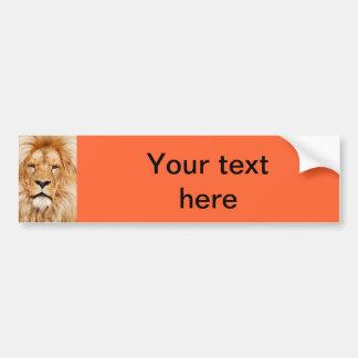 Pegatina para el parachoques del león pegatina de parachoque