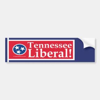 Pegatina para el parachoques del liberal de Tennes Pegatina Para Auto