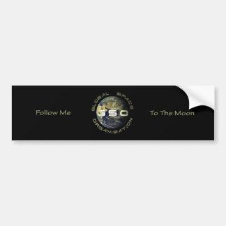 Pegatina para el parachoques del logotipo de GSO Etiqueta De Parachoque