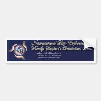 pegatina para el parachoques del logotipo de ILEFS Etiqueta De Parachoque