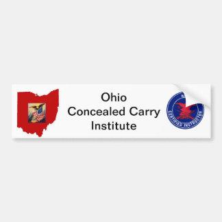 Pegatina para el parachoques del logotipo de OCCI Pegatina Para Auto