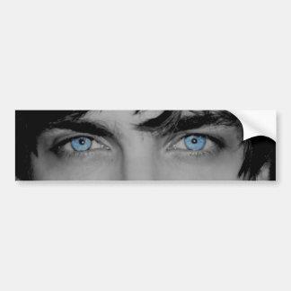 Pegatina para el parachoques del logotipo del ojo  pegatina de parachoque