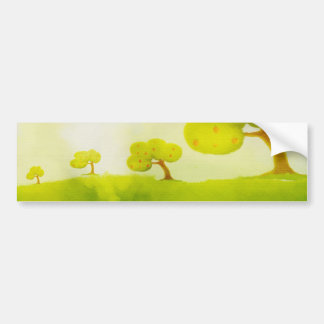 pegatina para el parachoques del manzano pegatina para auto