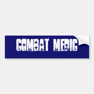 Pegatina para el parachoques del médico del combat pegatina para auto
