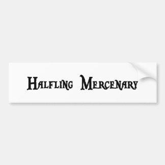 Pegatina para el parachoques del mercenario de Hal Pegatina De Parachoque