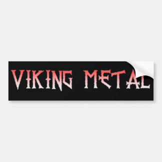 Pegatina para el parachoques del metal de Viking Pegatina Para Auto