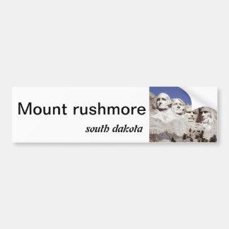 Pegatina para el parachoques del monte Rushmore Pegatina Para Auto