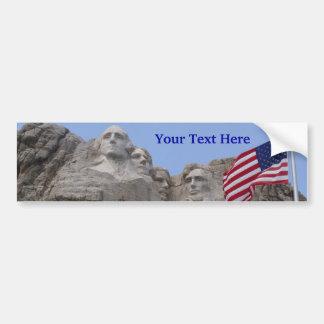 Pegatina para el parachoques del monte Rushmore (p Pegatina Para Auto