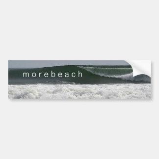 pegatina para el parachoques del morebeach etiqueta de parachoque