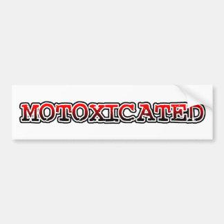 Pegatina para el parachoques del motocrós de la bi etiqueta de parachoque