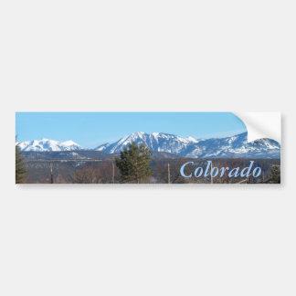 Pegatina para el parachoques del Mountain View de  Etiqueta De Parachoque