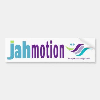 Pegatina para el parachoques del movimiento de Jah Pegatina Para Auto