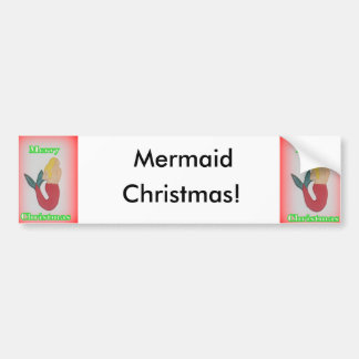 Pegatina para el parachoques del navidad de la pegatina para auto