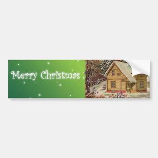 Pegatina para el parachoques del navidad pegatina para auto