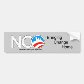 Pegatina para el parachoques del NCO Pegatina Para Auto
