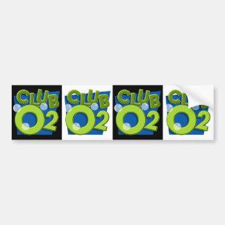 Pegatina para el parachoques del O2 del club Pegatina Para Auto