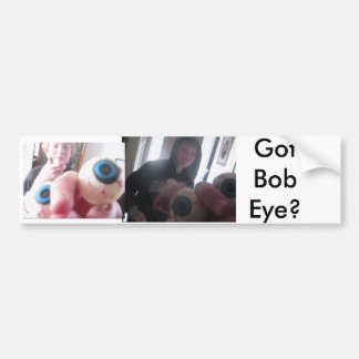 Pegatina para el parachoques del ojo de Bob Pegatina Para Auto