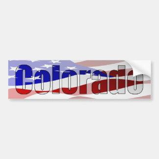 Pegatina para el parachoques del orgullo de Colora Pegatina Para Auto