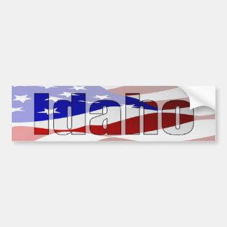 Pegatina para el parachoques del orgullo de Idaho Etiqueta De Parachoque