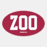 Pegatina para el parachoques del óvalo de Zoomass