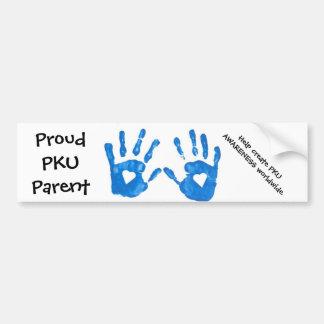 Pegatina para el parachoques del padre de PKU Pegatina Para Auto