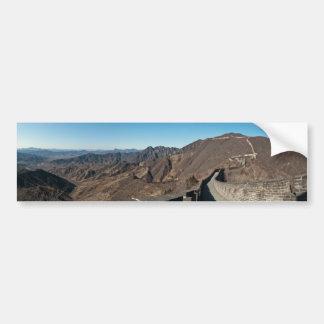 Pegatina para el parachoques del panorama pegatina para auto
