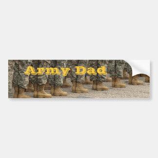 Pegatina para el parachoques del papá del ejército pegatina para auto