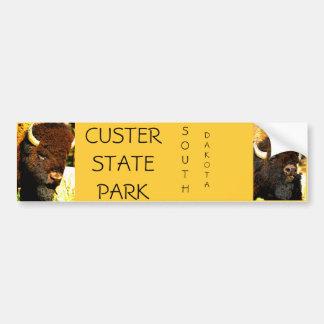 Pegatina para el parachoques del parque de estado  pegatina para auto