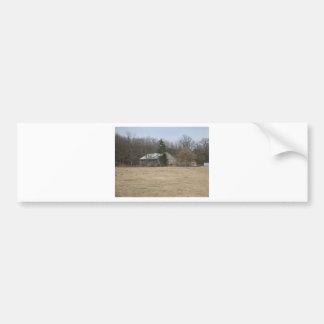 Pegatina para el parachoques del pasto de la granj pegatina para auto