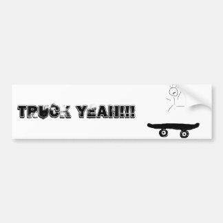 Pegatina para el parachoques del patinador pegatina para auto