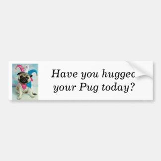 Pegatina para el parachoques del payaso del barro  etiqueta de parachoque
