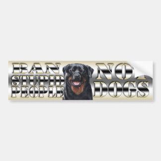 pegatina para el parachoques del perro etiqueta de parachoque