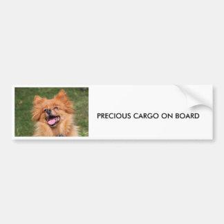 Pegatina para el parachoques del perro de pegatina para auto