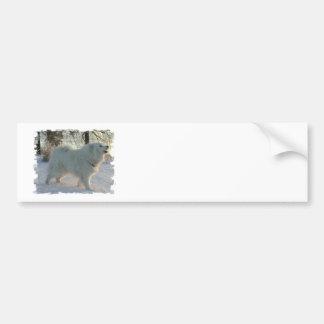 Pegatina para el parachoques del perro de los gran pegatina para auto