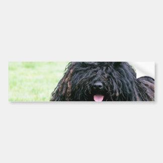 Pegatina para el parachoques del perro de Puli Etiqueta De Parachoque