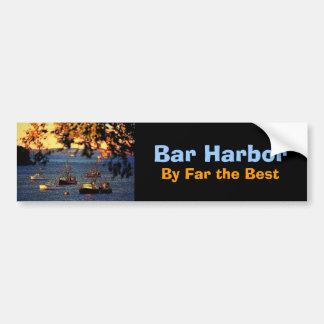 Pegatina para el parachoques del puerto de la barr pegatina para auto