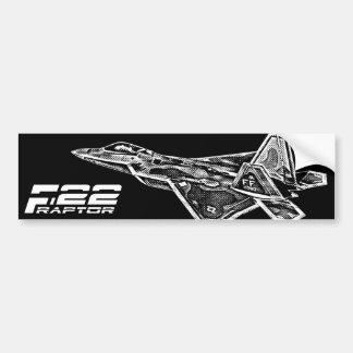 Pegatina para el parachoques del RAPAZ F-22 Pegatina Para Auto