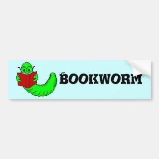Pegatina para el parachoques del ratón de bibliote etiqueta de parachoque