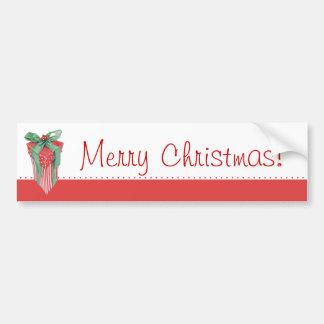 Pegatina para el parachoques del regalo del navida pegatina para auto