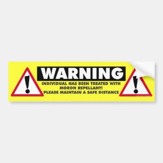 Pegatina para el parachoques del repulsivo del Imb Etiqueta De Parachoque