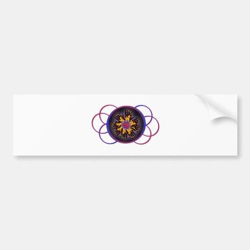 Pegatina para el parachoques del resplandor del ar etiqueta de parachoque