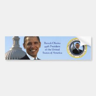 Pegatina para el parachoques del retrato de Barack Etiqueta De Parachoque